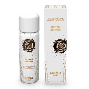 Memo French Leather Hair Perfume for Unisex - 80ml
