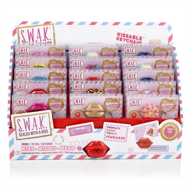 WowWee S.W.A.K. Kissable Keychain, Assorted - 4110-T