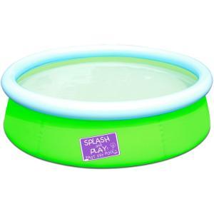 Bestway Inflatable Kiddie Pool, Green -  1.52m x 38cm  - 57241-G