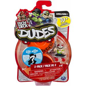Tech Deck Dudes - 2-Pack Collectible Skater Figures with Boards Assortment - 6028621-T