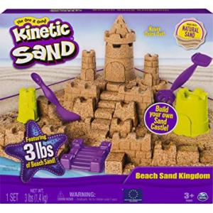 Kinetic Sand Beach Sand Kingdom Playset with 3lbs of Beach Sand - 6044143-T