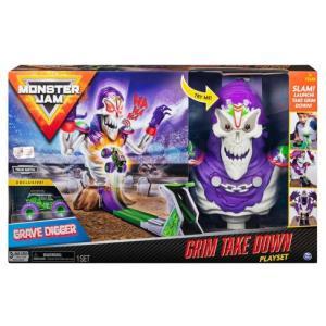 Monster Jam Grim Take Down Playset - 6046632-T