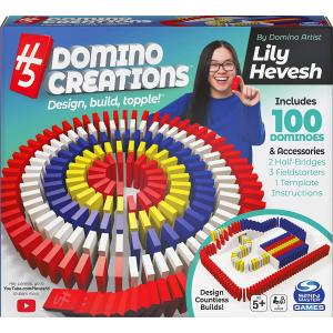 Spin Master Game Hevesh5 Domino Deluxe Set - 6059227-T