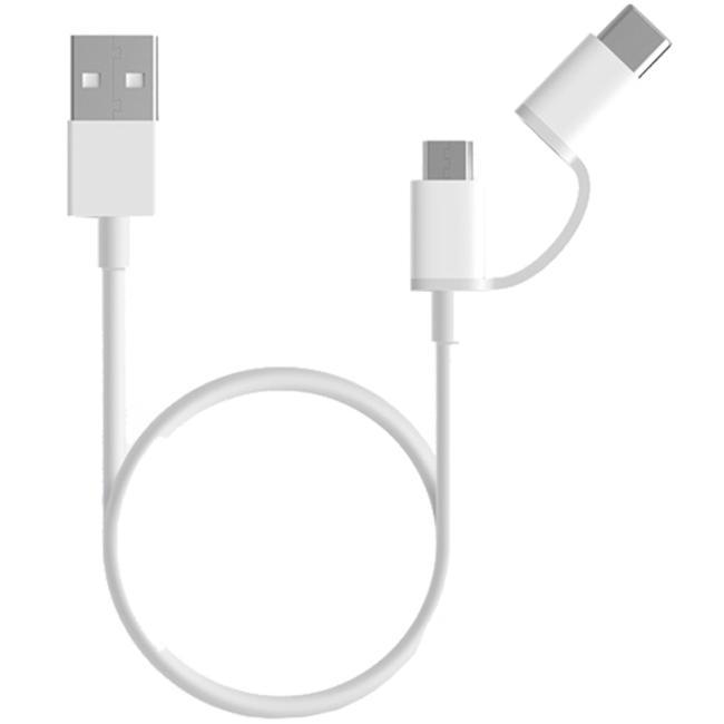 Xiaomi Mi 2-in-1 USB Cable - White
