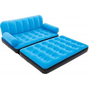 Bestway Double Multi-Functional Couch With Pump, Blue - 67356-BL