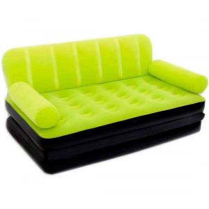 Bestway Double Multi-Functional Couch With Pump, Green - 67356-G