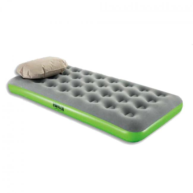 Bestway Roll & Relax Single Air Bed, Green - 67619-G