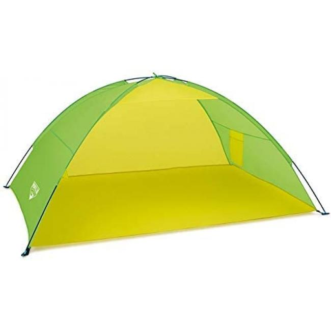 Bestway Pavillo Beach Tent - Dome - Green/Yellow - 68044