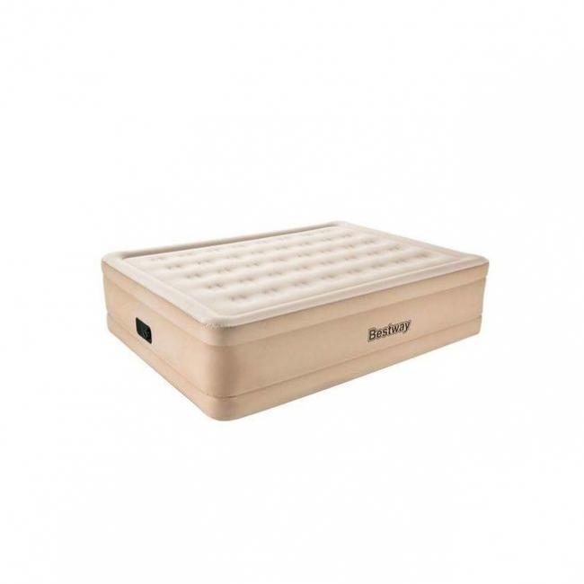 Bestway Essence Fortech Airbed Queen with Built-in AC pump - 69024