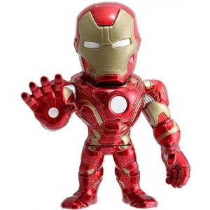 Jada Toy Metals Avengers CW Iron Man 4 inch Action Figure  - 97557-T