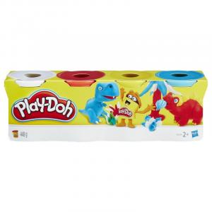 Hasbro Play-Doh 4 Pack, Assorted - B5517
