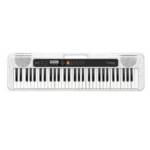 Casio 61 Keys Portable Music Keyboard Silver, Without Adaptor - CT-S200WEC2