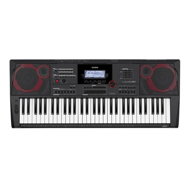 Casio Portable Piano Keyboard with AIX Technology with AC Adaptor - CT-X5000C2