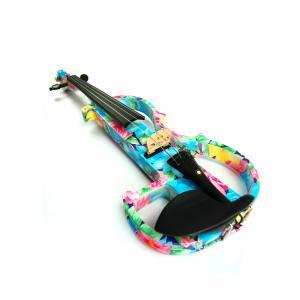 Kinglos 4/4 Advanced Colored Electric Violin - DSG-1002