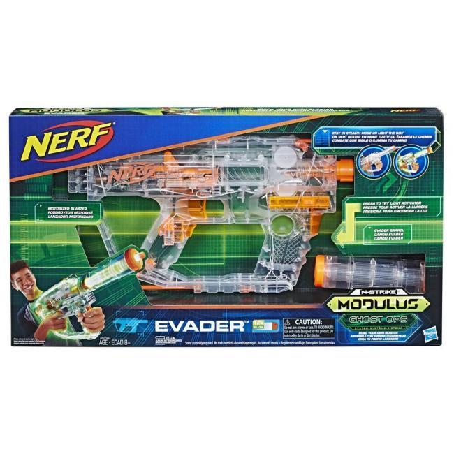 Hasbro Nerf Ghost Ops Evader Blaster - E0733