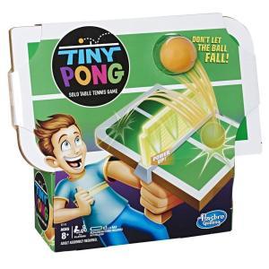 Hasbro Tiny Pong Solo Table Tennis Kids Electronic Handheld Game - E3112