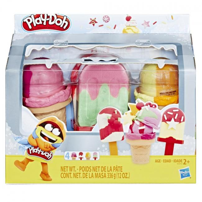 Hasbro Play-Doh Ice Pops 'n Cones Freezer Themed Pack Assorted - E5332
