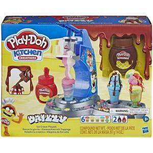 Hasbro Play-Doh Kitchen Creations Drizzy Ice Cream Playset - E6688
