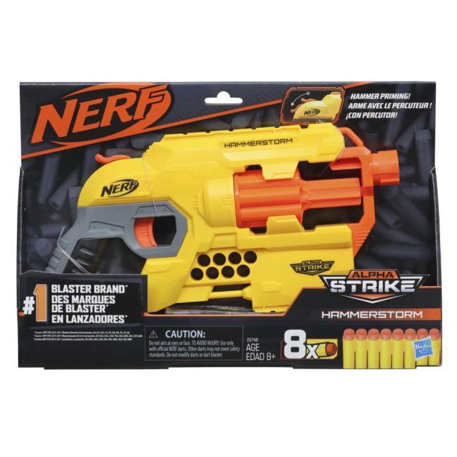 Hasbro Nerf Alpha Strike Hammerstorm Blaster - E6748