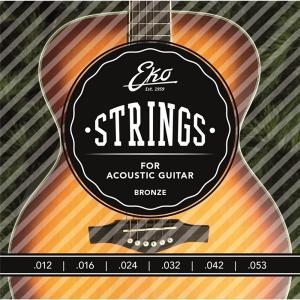 Eko Acoustic Guitar String Set Heavy - EKO-ST-AC-H