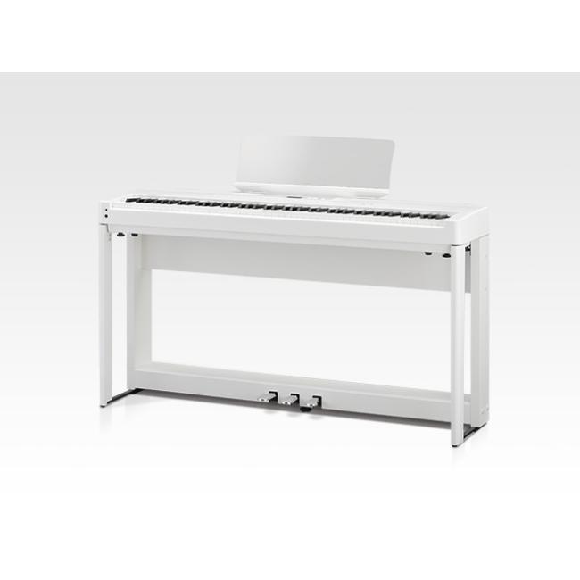 Kawai 88Keys Digital Piano with Bench, White - ES520-W
