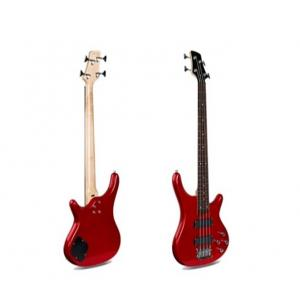 Smiger 4 Strings Electric Bass Guitar Bass, Red - G-B3-4-RD