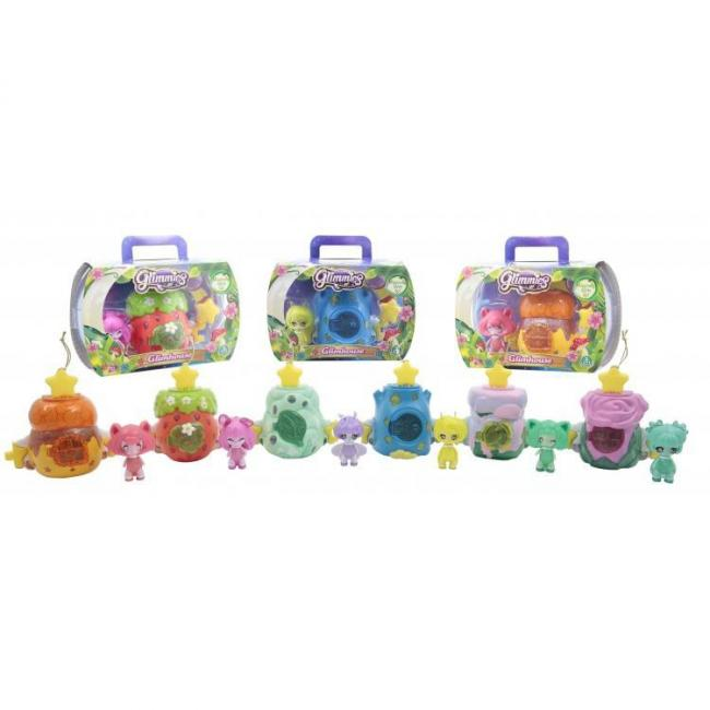 Glimmies Glimhouse Wave 1 Assorted. 6 - GLM03000