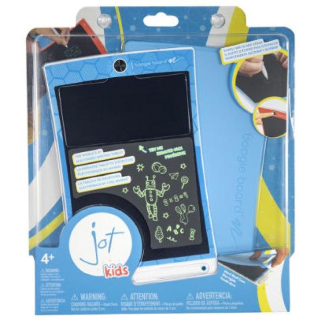 Boogie Board Jot 8.5 LCD eWriter, Geometric Blue with Blue Cover - J3G2C0001
