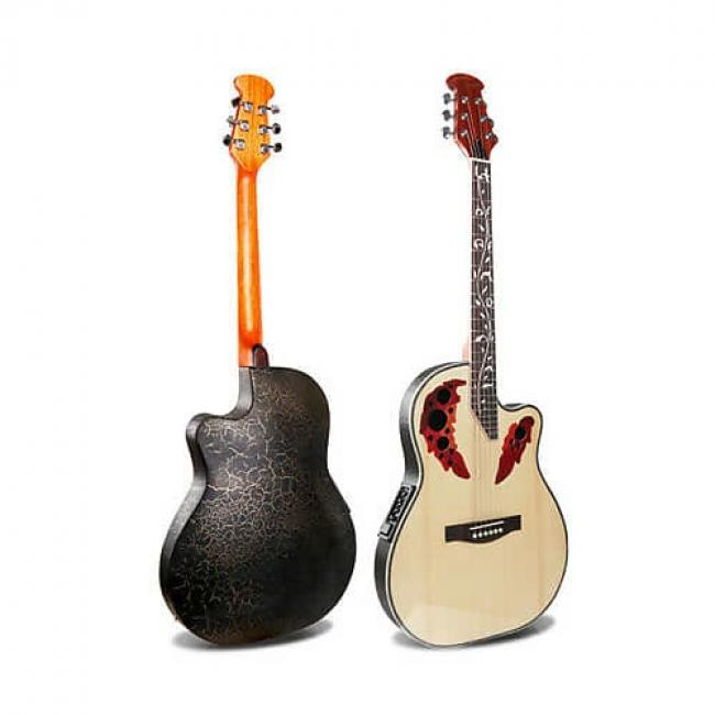 Smiger 41Inch Electric Acoustic Guitar - M-4160-EQ-N