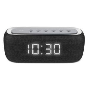 Havit Bluetooth Speaker with Radio and Clock, Black - M29-B