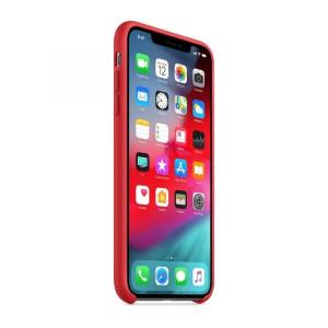 Apple iPhone XS Max Silicone Case, (PRODUCT)RED - MRWH2
