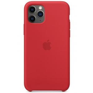 Apple iPhone 11 Pro Silicone Case, (PRODUCT) Red - MWYH2