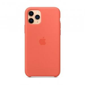 Apple iPhone 11 Pro Silicone Case, Clementine Orange - MWYQ2