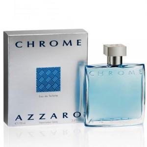 Azzaro Chrome, Eau De Toilette for Men - 100 ml
