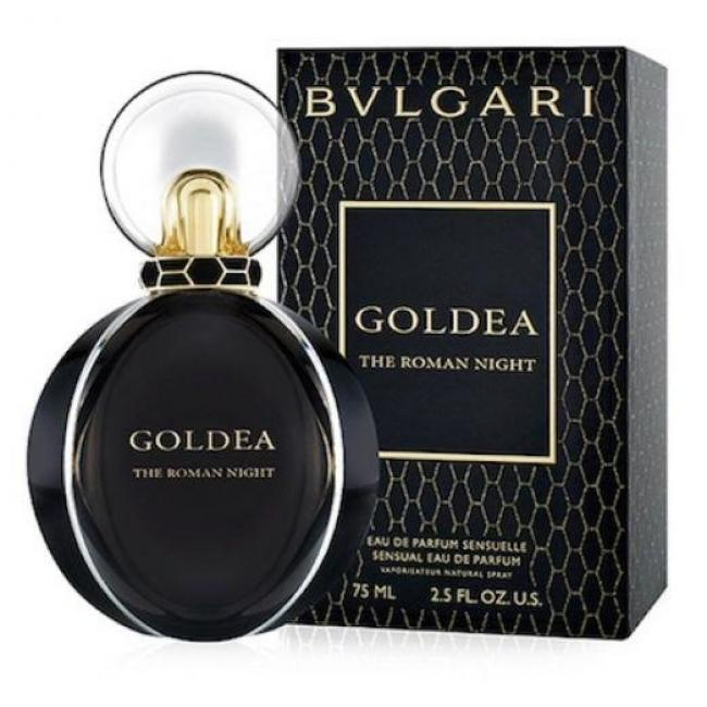 Bvlgari Goldea The Roman Night, Eau De Perfume for Women - 75ml