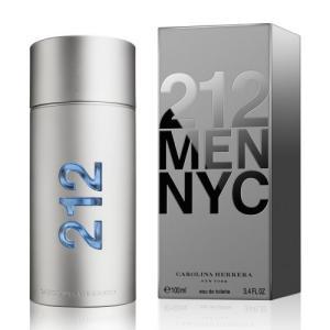 Carolina Herrera 212 Men NYC, Eau de Toilette for Men - 100ml