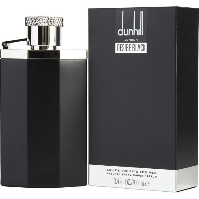 Dunhill Desire Black, Eau De Toilette Spray for Men, 100ml