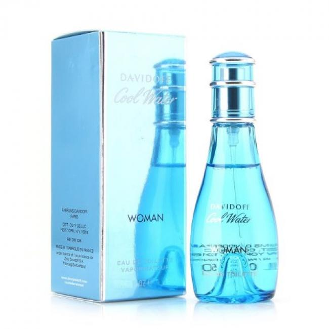 Davidoff Cool Water, Eau De Toilette for Women - 100 ml
