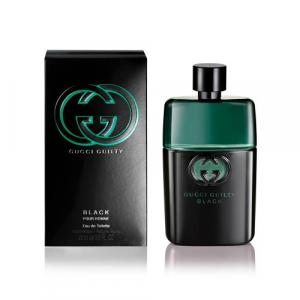 Gucci Guilty Black, Pour Homme Eau De Toilette Spray for Men - 90ml
