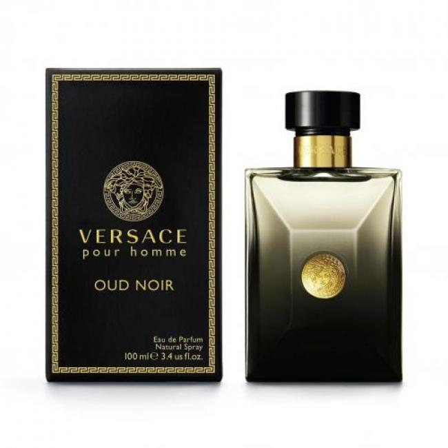 Versace Pour Homme Oud Noir, Eau de Parfum for Men - 100ml