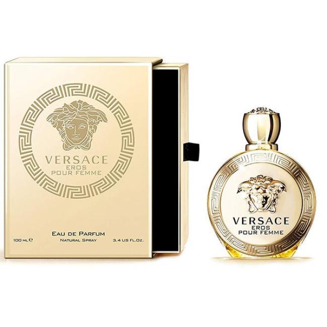 Versace Eros Pour Femme, Eau de Perfume for Women - 100ml