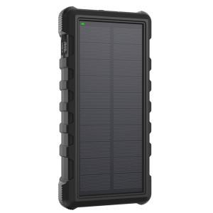 RAVPower 25000mAh Solar Power Bank, Black - RP-PB083