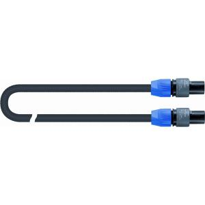 Quiklok Speaker Cable, Black - S-345-20PN