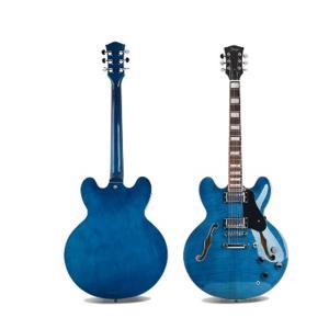 Smiger Jazz Electric Guitar, Blue - S-G16-TBL