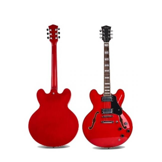 Smiger Jazz Electric Guitar, Red - S-G16-TRD
