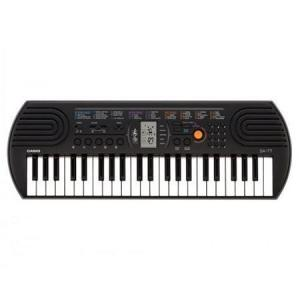 Casio Compact Musical Keyboard Without Adaptor- SA-77AH2