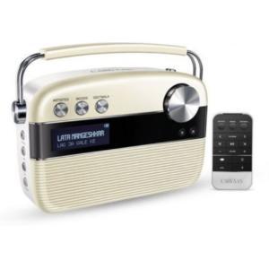 Saregama Carvaan Hindi Portable Digital Music Player with Remote - SC03-WH
