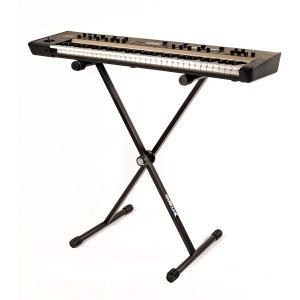 Quik Lok T-rex Single Keyboard Stand - T-10-BK