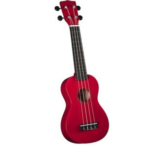 Artland Ukulele Four Strings Colourful Guitar, Red - UKS200-03