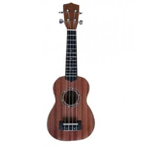 Artland Music Ukulele Four Strings Guitar, Dark Brown - UKS650-24